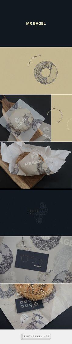 Mr.Bagel Bagel Eatery Branding by Fei Zhou | Fivestar Branding Agency – Design and Branding Agency & Curated Inspiration Gallery