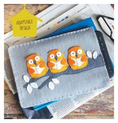 Embroider Easy Applique Designs with Felt and Hand Stitching - Cloth Paper Scissors Today - Blogs - Cloth Paper Scissors