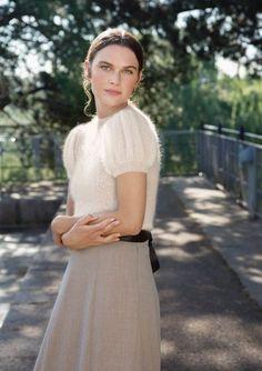 Oppskrifter - Topp - Sandnes Garn Silk Skirt, Fall Wardrobe, Fashion History, Kos, Knitwear, Jumper, Peplum, White Dress, Flower Girl Dresses