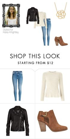 """""""Keira Knightley"""" by ginnypotter-724 ❤ liked on Polyvore featuring Miss Selfridge, SET, MICHAEL Michael Kors and Lord & Taylor"""