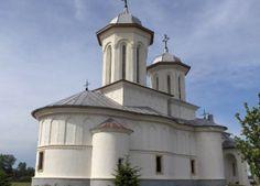 Manastirea Balaciu este intr-o zonă în care existau în timpurile medievale aşezări de moşneni, la Balaciu de Jos aveau moşie, în jurul anului 1800. Romania, Drum, Gazebo, Outdoor Structures, Clouds, Building, Travel, Viajes, Buildings