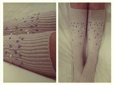DIY: Fashion socks - Girlscene