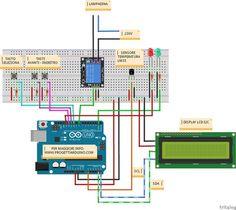 Arduino menu a scelta rapida con 4 opzioni. LCD 16x2 I2C o 4bit con uscita relè.