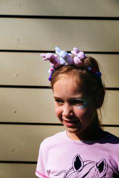 Haarband met konijntjes- pasen diy- pasen decoratie- diy easter- easter tiara- http://www.mylucie.com