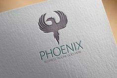 Check out Phoenix Logo by samedia on Creative Market