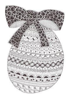 Zentangle made by Mariska den Boer 99