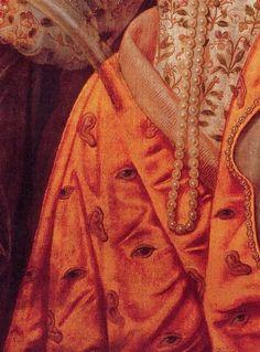 The Rainbow Portrait, c. 1600–02, attrib. Isaac Oliver
