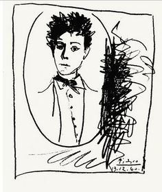 "silverdisaster: "" Portrait d'Arthur Rimbaud by Picasso. Patti Smith, Pablo Picasso, Portrait Picasso, Illustrations, Illustration Art, Nastassja Kinski, Robert Mapplethorpe, Jean Cocteau, Portraits"