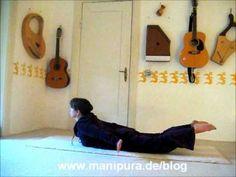 Akute Rückenschmerzen mit Yoga-Übungen sofort los werden - Teil I / Übungsvideo - Heilyoga.ME