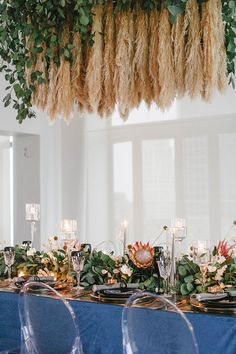 La Tavola Fine Linen Rental: Velvet Navy | Photography: Leigh Miller Photography, Planning & Design: Event by Reagan, Floral Design: Flora Design Co, Venue; The Brass on Baltimore, Tabletop Rentals: Ultrapom, Paper Goods: Little Yellow Leaf