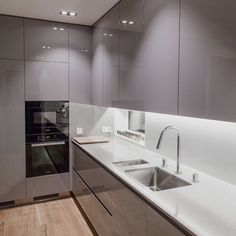 Modern And Trendy Kitchen Cabinets Ideas And Design Tips – Home Dcorz Simple Kitchen Design, Kitchen Room Design, Luxury Kitchen Design, Kitchen Cabinet Design, Kitchen Colors, Kitchen Decor, Kitchen Corner, Kitchen Designs, Kitchen Ideas