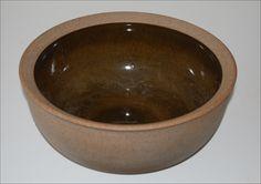 Richard Manz. Big bowl in stoneware made for Knabstrup Denmark. W: 129,5. H: 12 cm.