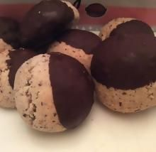 Biscuits noisettes chocolat