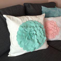 Hand made pillow .
