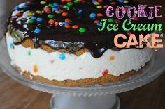 Cookie Ice Cream Cake