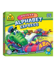 Take a look at this Alphabet Express Deluxe CD-ROM by School Zone on #zulily today!