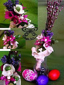 Wielkanocne dekoracje na Stylowi.pl Christmas Bulbs, Table Decorations, Holiday Decor, Spring, Diy, Education, Children, Food, Craft