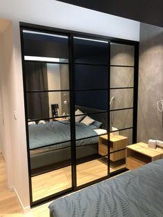 Dream Bedroom, Home Bedroom, Bedroom Decor, Modern Bedroom Design, Home Room Design, Wardrobe Door Designs, Black Bedroom Furniture, Bedroom Wall Colors, Hall Design