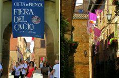 Briciole di Sapori           : Fiera del cacio di Pienza (Siena). L'ultima settim...