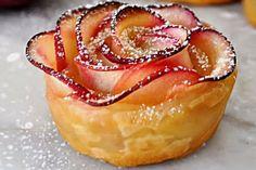 Comment faire cette merveilleuse rose aux pommes!