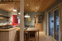 Scandinavian Design, Dining Room, Interior Design, Building, Kitchen, Table, House, Furniture, Home Decor