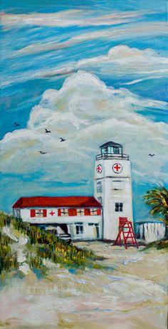 Jax Lifeguard Station orig 18x36
