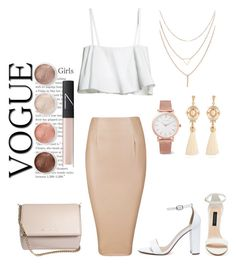 """Rouz"" by anastasia-sun ❤ liked on Polyvore featuring My Delicious, Forever New, Givenchy, Larsson & Jennings, Terre Mère and NARS Cosmetics"