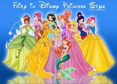Winx Principesse di solito sono divertenti, ma perché sono bellissime principesse e di una principessa è gli abiti più eleganti.