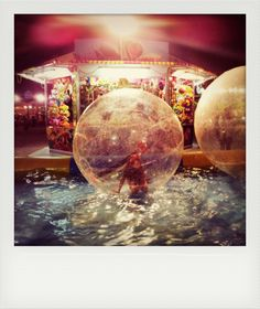 Principessa in bolla di sapone - Princess in a bubble Falsa Polaroid, Samsung Galaxy S2 internal camera, Instagram, Photoshop