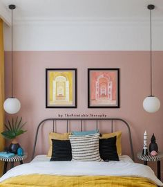11 Cool Pink Bedroom Ideas That Can be Pretty - All Bedroom Design Home Interior Design, Interior Decorating, Decorating Blogs, Budget Decorating, Decorating Games, Modern Interior, Pink Bedroom Decor, Bedroom Ideas, Dusty Pink Bedroom