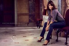NYDJ Enlists Helena Christensen for ad campaign.