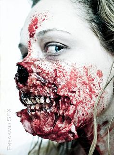 25 Most Scariest Zombie Makeup Attempts Of All Time That Will Give You Goose Bumps | Full Punch