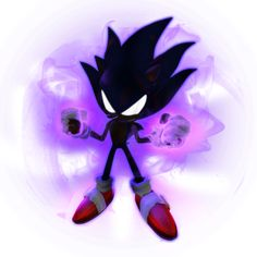 Dark Sonic 2019 render by Nibroc-Rock on DeviantArt Shadow The Hedgehog, Silver The Hedgehog, Sonic The Hedgehog, Sonic Fan Characters, Beyblade Characters, Sonic Fan Art, Golden Sonic, Tim Burton Batman, Super Shadow