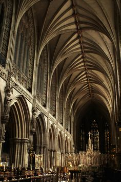 Lichfield Cathedral, Staffordshire - UK