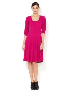 Carter Pointelle A-Line Dress