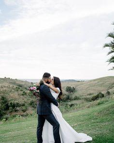 We can't wait to share more from Bel & Chris's stunning Byron Bay wedding. 📷@lucasandcophotography // Dress: 'Mabel' by @kwhbridal from @karenwillisholmes_brisbane // Hair: Tash @thefrontyard_ // Suit: @wolfkanat #horizonbyronbay @byronbayweddings   Karen Willis Holmes Follow - @KWHBridal