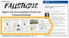 Online PR Fallstudie: Eignet sich ein komplexes Thema als Pressemitteilung?  Wie sich schwer verständliche Texte in eine leicht verständliche Pressemitteilung verwandeln lassen.    #Pressemitteilung #Pressetext
