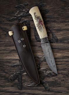Дракон и сакура - Фиксированные клинки - 2knife
