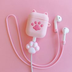 Paw Airpods Protector Case For Iphone – ivybycrafts Kawaii Accessories, Iphone Accessories, Girly Things, Cool Things To Buy, Stuff To Buy, Cute Headphones, Unicorn Fashion, Accessoires Iphone, Kawaii Room