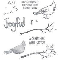 Joyful Season Photopolymer Stamp Set by Stampin' Up! Price: $21.00