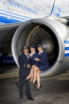 FinnAir Engine Crewfie