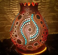 Handmade Gourd Art The Luciferous