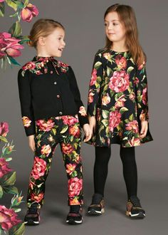 ideas for baby clothes winter dolce & gabbana Fashion Kids, Little Girl Fashion, Trendy Fashion, Stylish Clothes For Girls, Cool Baby Clothes, Stylish Outfits, Baby Outfits, Kids Outfits, Summer Outfits