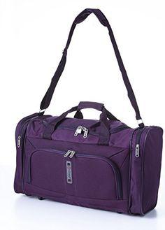 WIHVE Gym Duffel Bag Chevron Zig-Zag Stripes Geometry Sports Lightweight Canvas Travel Luggage Bag