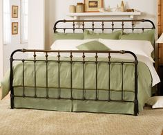 Boston Iron & Brass Bed- King Size -Charlesprogers.com