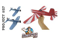 Make a Foam Airplane that is Better Than Balsa Wood! SonicDad Project #5...