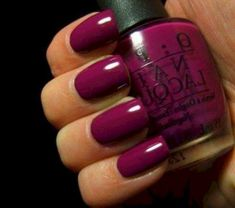 Nails Beautiful Women Style 2019 With Type Opi Nail Polish 23 January Nail Colors, New Nail Colors, Toe Nail Color, Pink Nail Designs, Nail Designs Spring, Opi Nail Polish, Opi Nails, Cute Pink Nails, Nail Art Stickers