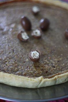 Huuuuuuuuuum, une tarte aux shokobons Kinder sans gluten ! Parfait pour les gouters d'anniversaires de nos petits intolérants et allergiques !