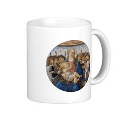 Mary with Child and Singing Angels by Botticelli Mug