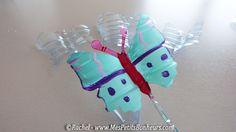 papillon bouteille plastique